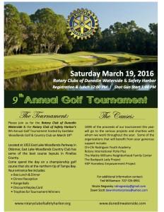 2016 Rotary Golf Flyer